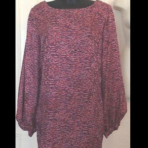 Elizabeth and James Silk tunic/dress size 8